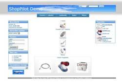 Demoshop mit umschaltbarem Design