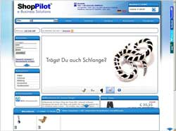 Möbel Demoshop mit Web 2.0 Techniken