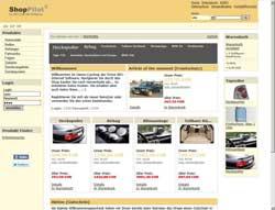 Demo Autoshop und Autozubehör Shop