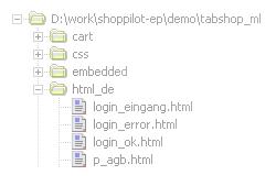 Integrierter Dateiexplorer
