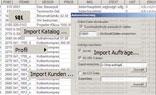 Anbindung an Warenwirtschaft-Systeme Datenimport